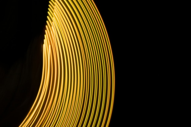 Fond de lumières tourbillonnantes