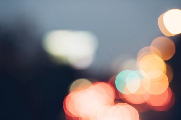 Fond de lumières vintage de paillettes rouges. défocalisé