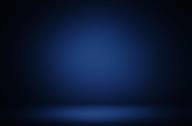 Fond de luxe d'affichage dégradé bleu abstrait premium