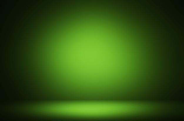 Fond de luxe d'affichage dégradé vert clair abstrait premium