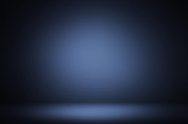 Fond de luxe d'affichage dégradé violet bleu foncé abstrait premium