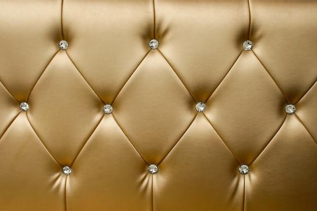 Fond de luxe en cuir doré