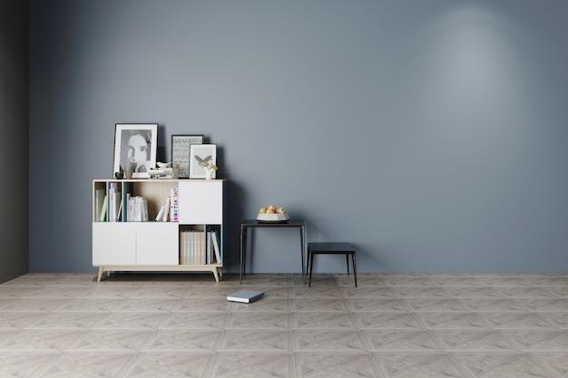 Fond de maison minimaliste gris nordique