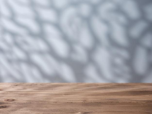 Fond de maquette pour la présentation du produit avec des ombres naturelles