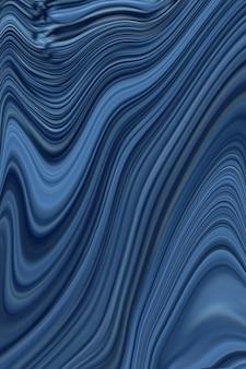 Fond de marbre bleu foncé avec doublure dorée