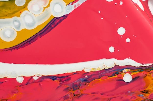 Fond de marbre liquide coloré abstrait art expérimental de texture fluide