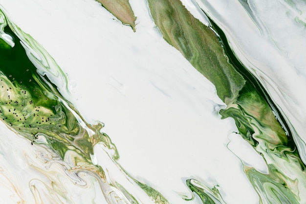 Fond de marbre liquide vert abstrait texture fluide art expérimental