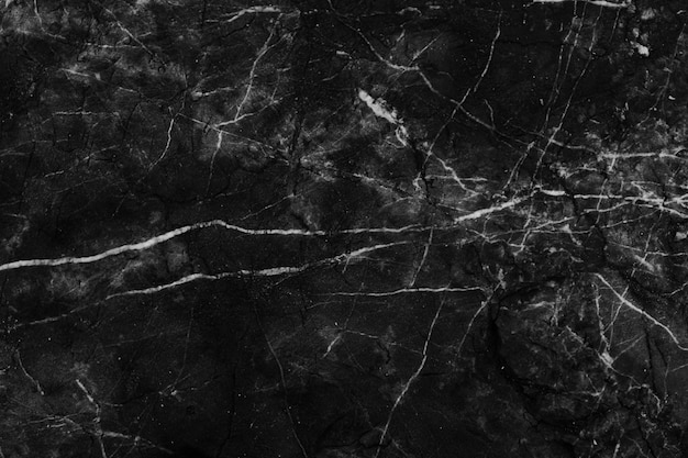 Fond de marbre noir et blanc et motif de texture haute résolution.