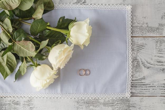 Fond de mariage.
