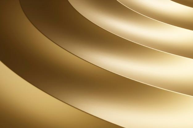 Fond de matériau texturé doré lisse