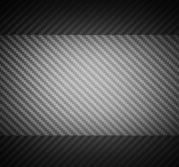 Fond de matière première composite en fibre de carbone grise