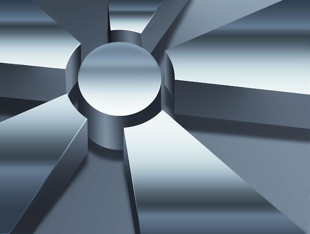 Fond métal abstrait