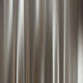 Fond en métal argenté brossé