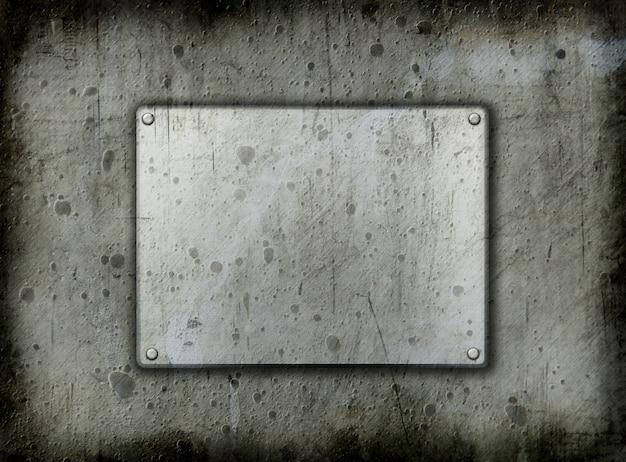 Fond métal grunge