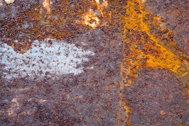 Fond de métal rouillé