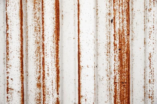 Fond métallique brun rouillé