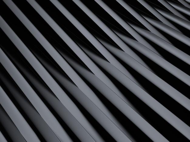 Fond métallique industriel noir avec des lignes croisées ou des barres