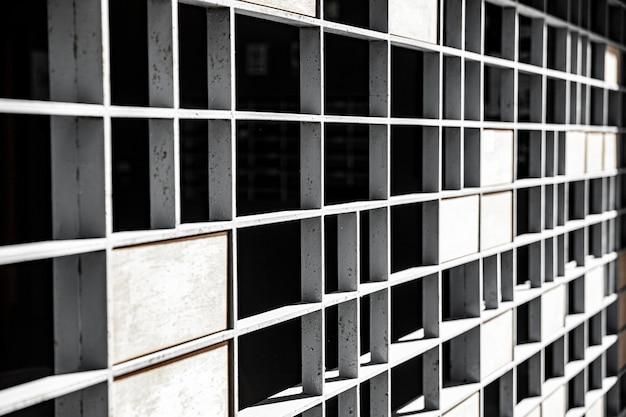 Fond métallique vieux mur en acier inoxydable