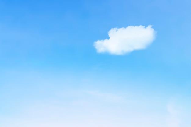 Fond mignon avec ciel et nuages
