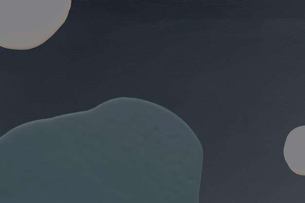 Fond minimal de peinture bleu foncé