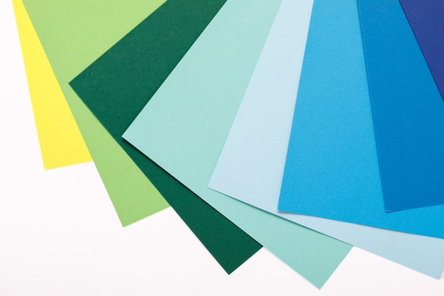 Fond de minimalisme de texture de papier coloré. formes et lignes géométriques minimales