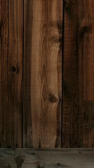 Fond mobile de mur en bois brun foncé