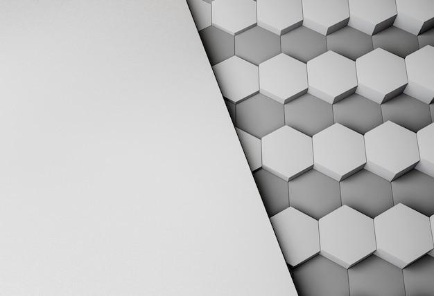 Fond moderne avec des formes géométriques