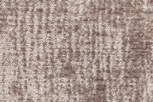 Fond moelleux brun en tissu doux et moelleux