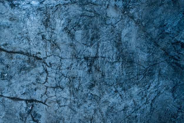 Fond de mortier bleu, texture de ciment