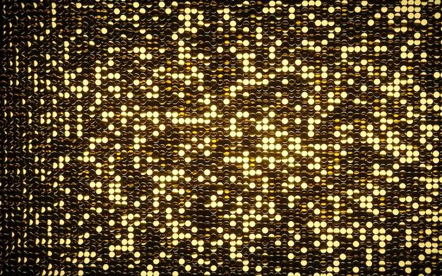 Fond de mosaïque brillante de pièces d'or.