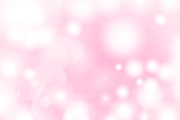 Fond à motifs bokeh rose flamant