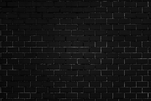 Fond à motifs de brique noire