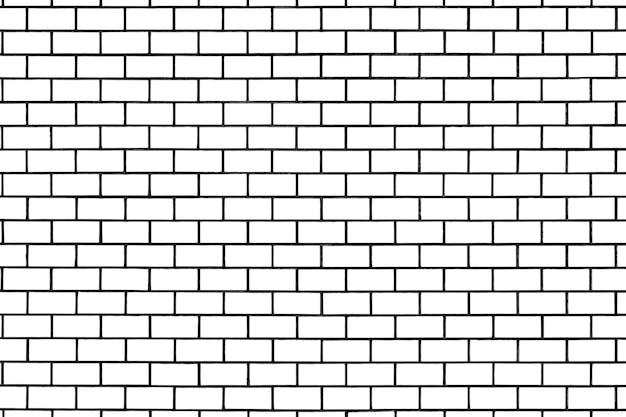 Fond à motifs de briques blanches