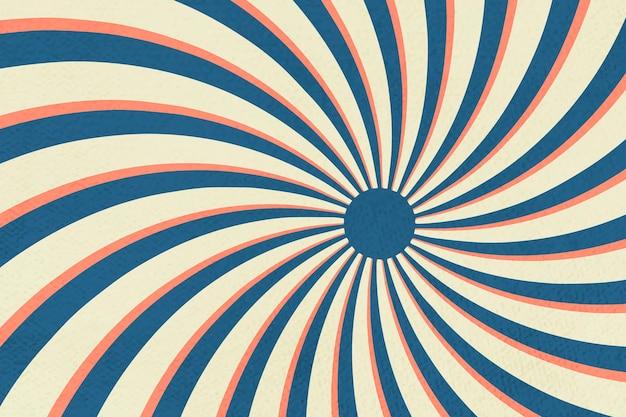 Fond à motifs effet sunburst en spirale