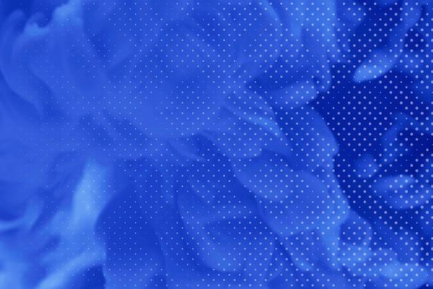 Fond à motifs fluide bleu