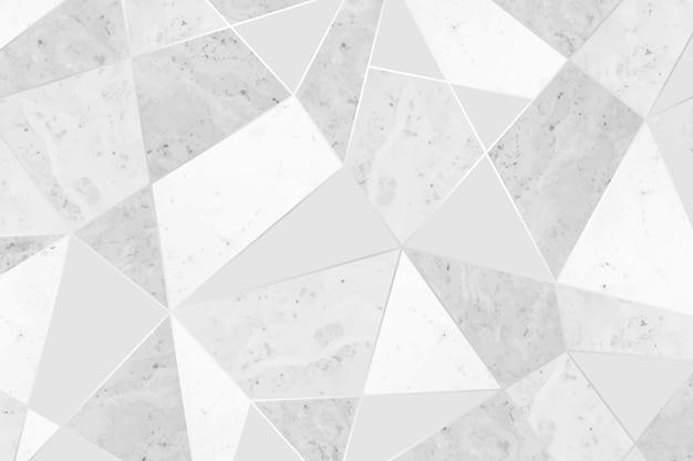 Fond à motifs de mosaïque grise