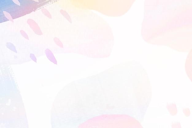 Fond à motifs pastel memphis