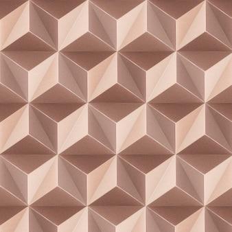 Fond à motifs sans couture cubique