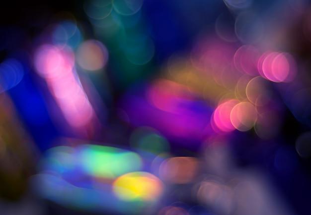 Fond de mouvement flou abstrait coloré