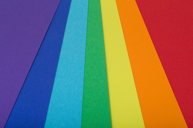 Fond multicolore en carton de couleurs différentes