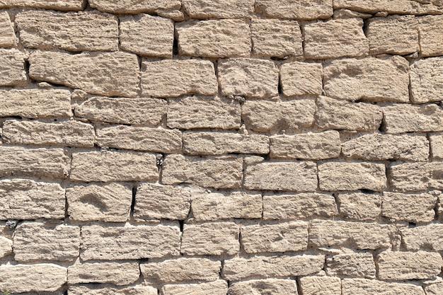 Fond de mur antique avec maçonnerie