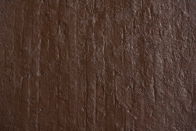 Fond de mur en béton brun simple