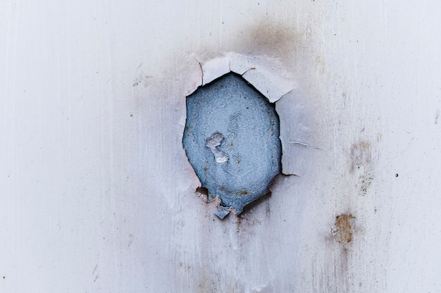 Fond de mur blanc vieux et sale
