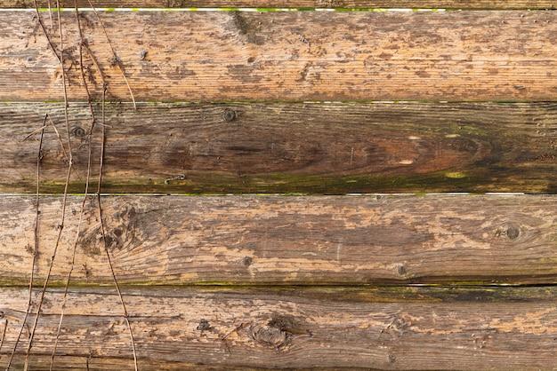 Fond de mur en bois abstrait