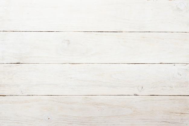 Fond de mur en bois blanc vintage