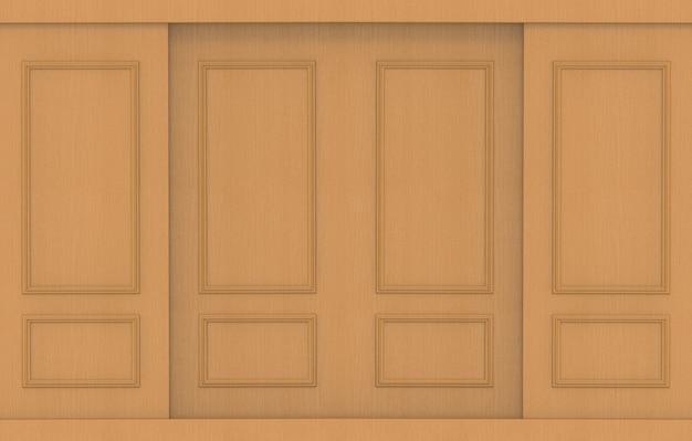 Fond de mur de bois brun clair de luxe.