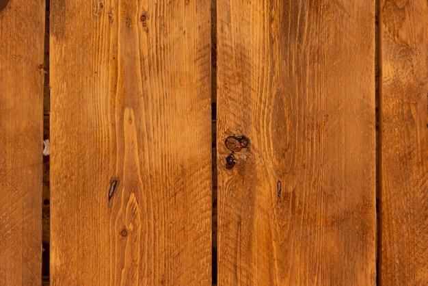 Fond de mur en bois brun texturé
