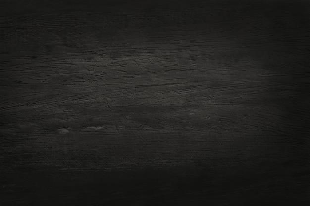 Fond de mur en bois noir, texture de bois d'écorce sombre