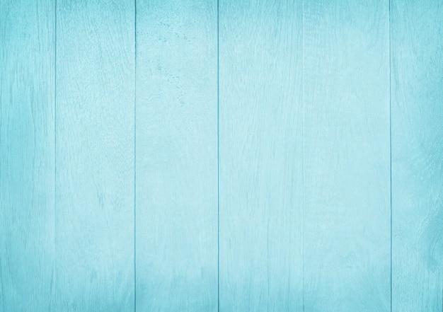 Fond de mur en bois peint vintage, texture de couleur pastel bleue