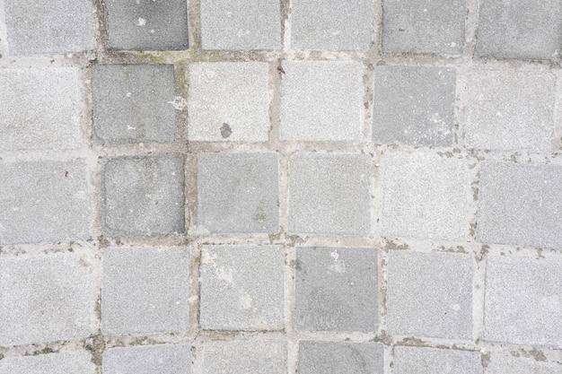Fond de mur de brique blanche texturée abstraite patiné